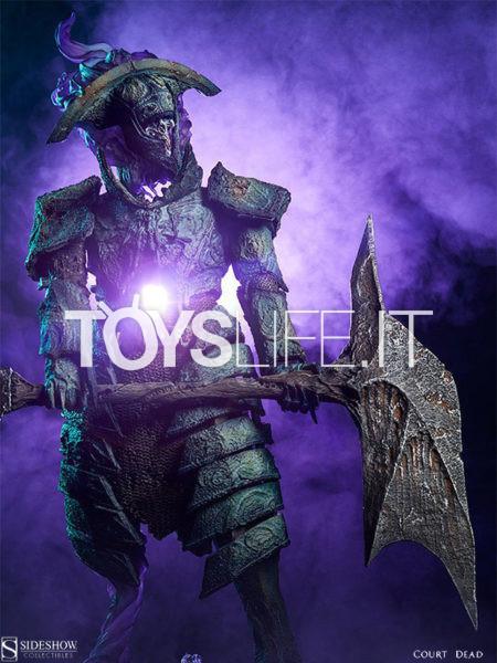 Sideshow Court of the Dead Oathbreaker Stryfe Fallen Mortis Knight Premium Format