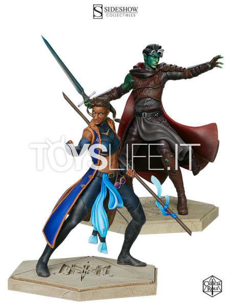 Sideshow Critical Role The Mighty Nein Fjord/ Beau Pvc Statue