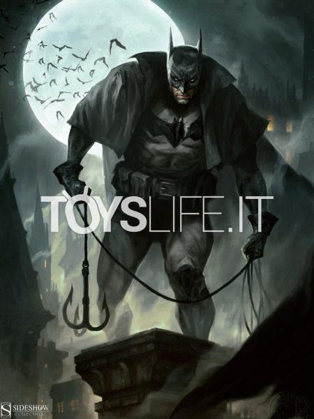Sideshow DC Comics Batman Gotham In Gaslight 61X46 Unframed Art Print