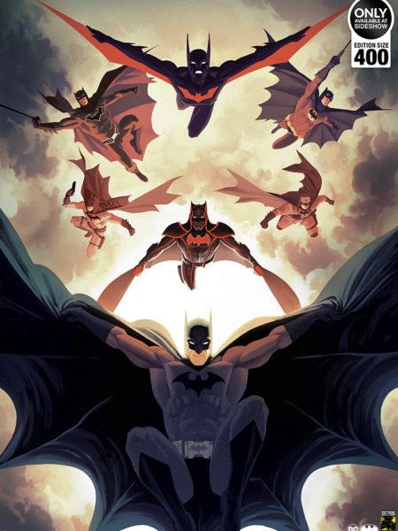 Sideshow DC Batman Legacy Fine Art Print by Kris Anka