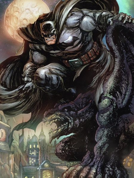 Sideshow DC Comics Batman The Dark Knight 46x61 Unframed Art Print