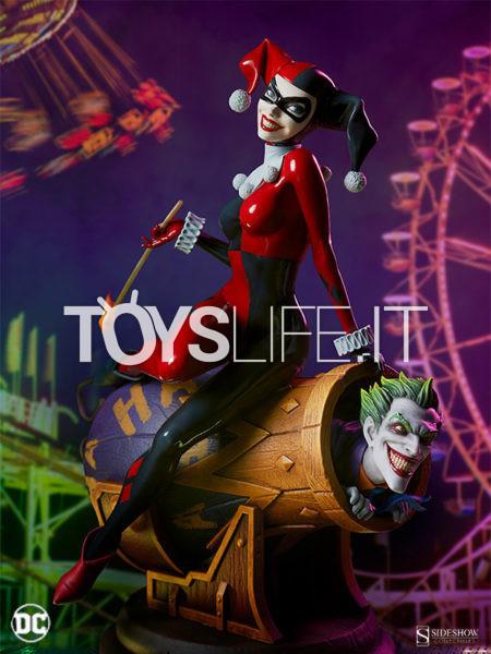 Sideshow DC Harley Quinn & The Joker Diorama