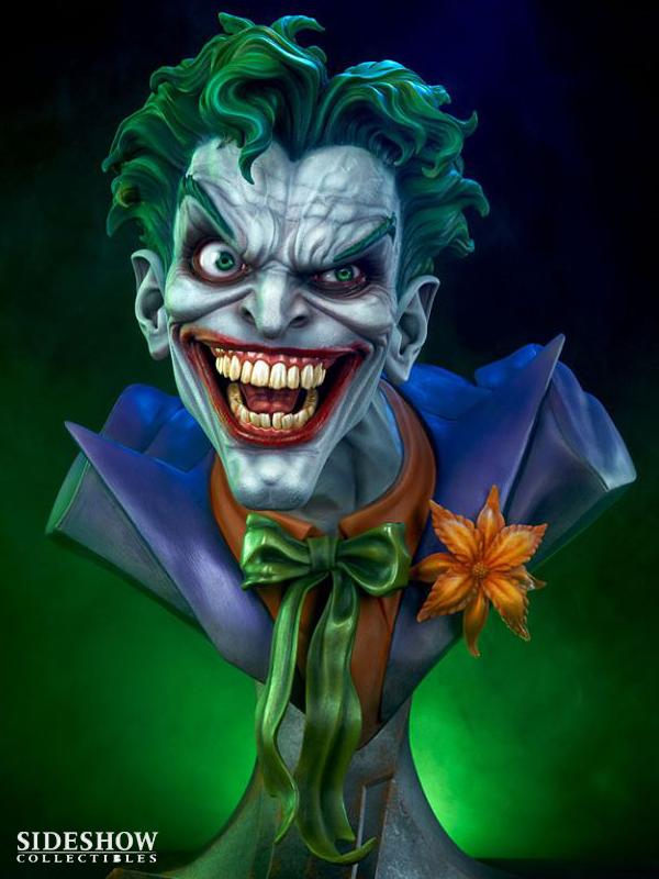 Sideshow DC Comics The Joker Lifesize 1:1 Bust