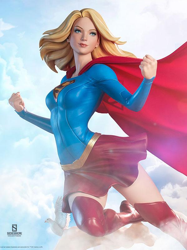 Sideshow DC Comics Supergirl Premium Format by Artgerm