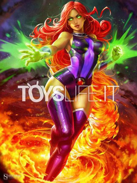 Sideshow DC Comics Teen Titans Starfire Unframed Art Print
