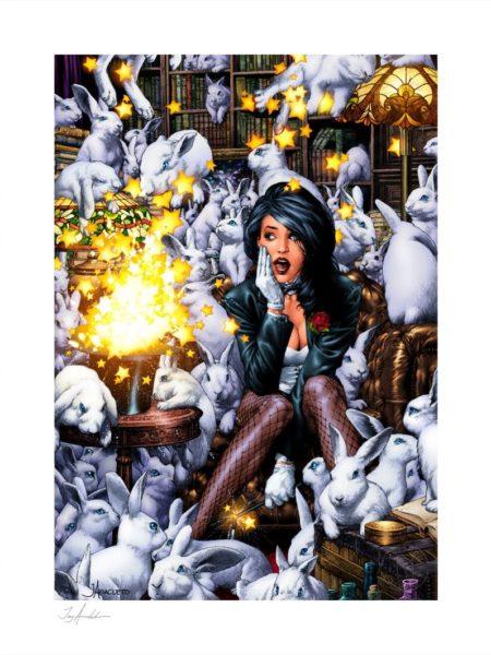 Sideshow DC Comics Zatanna 46X61 Unframed Art Print