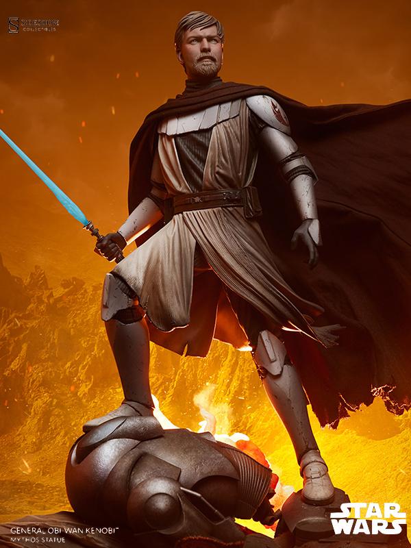 Sideshow Star Wars General Obi-Wan Kenobi Mythos Statue