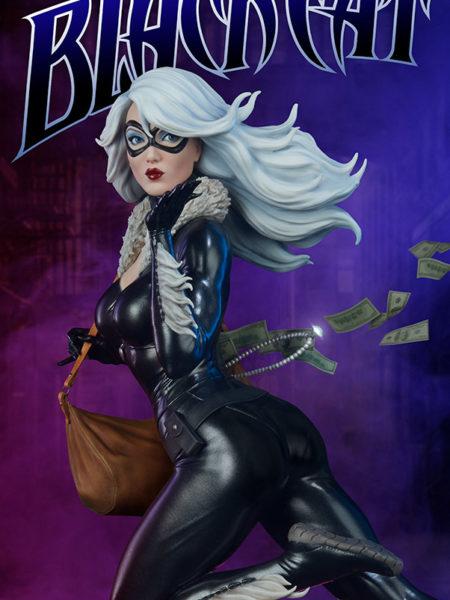 Sideshow Marvel Spiderverse Black Cat 1:5 Statue By Mark Brooks