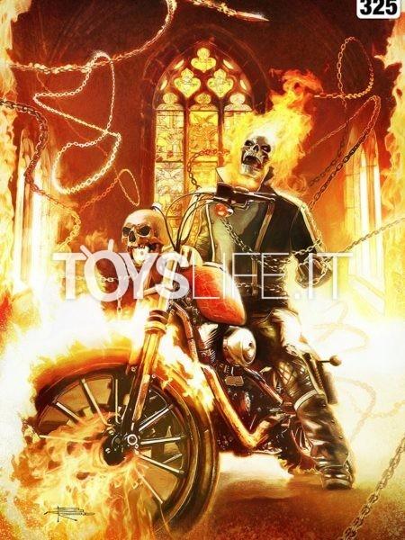 Sideshow Marvel Comics Ghostrider Unframed 46x61 Unframed Art Print