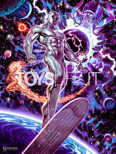 Sideshow Marvel Comics Heralds Of Galactus Unframed Exclusive Art Print