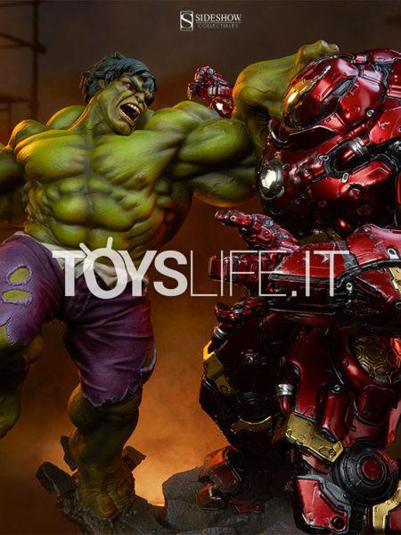 Sideshow Marvel Avengers Age of Ultron Hulk vs Hulkbuster Maquette