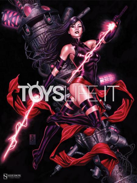 Sideshow Marvel Comics Psylocke 46x61 Unframed Art Print