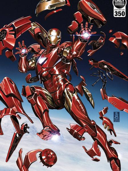Sideshow Marvel Comics Tony Stark Ironman Unframed Art Print