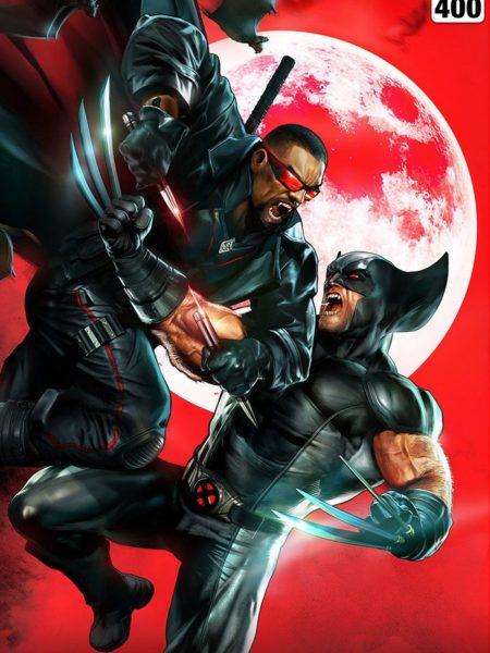 Sideshow Marvel Comics Wolverine Vs Blade Unframed 46x61 Art Print