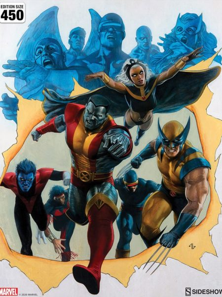 Sideshow Marvel Giant Size X-Men 56x67 Unframed Exclusive Art Print