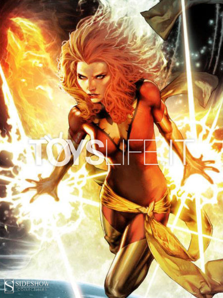 Sideshow Marvel Comics X-Men Dark Phoenix 46x61 Unframed Art Print