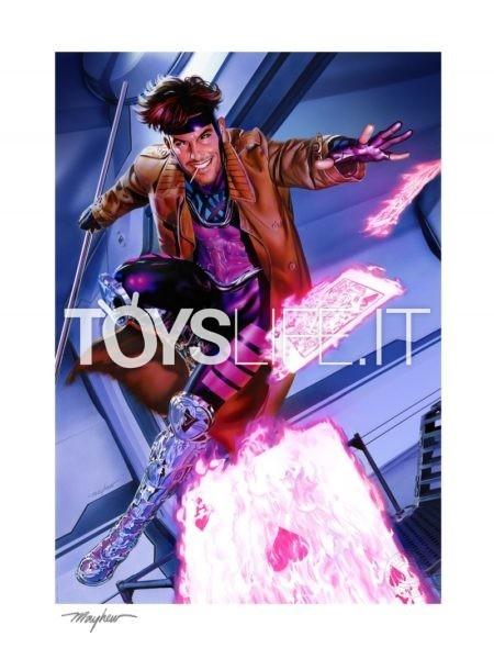 Sideshow Marvel X-Men Gambit 46x61 Unframed Art Print