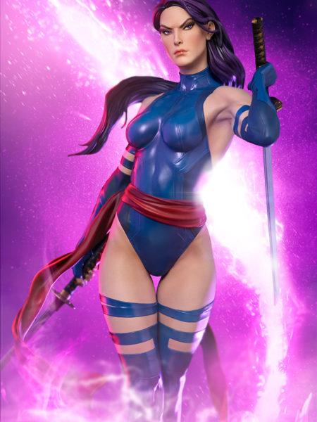 Sideshow Marvel X-Men Psylocke Premium Format