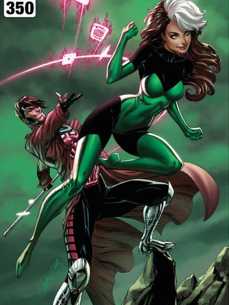 Sideshow Marvel Uncanny X-Men Rogue and Gambit Unframed Art Print By J. S. Campbell