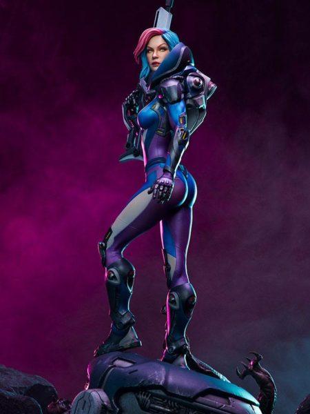 Sideshow Originals Bounty Hunter Galactic Gun For Hire Statue