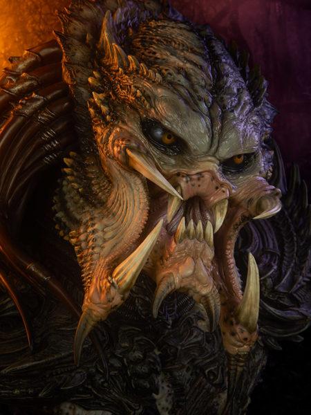 Sideshow Predator Predator Barbarian Mythos 1:2 Legendary Scale Bust