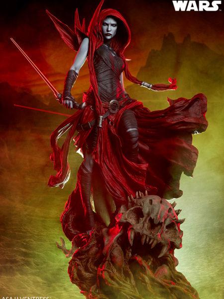 Sideshow Star Wars Asajj Ventress Mythos Statue