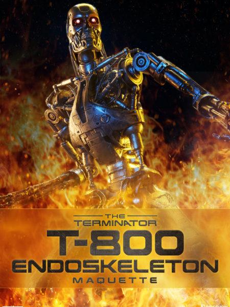 Sideshow The Terminator T-800 Endoskeleton Maquette