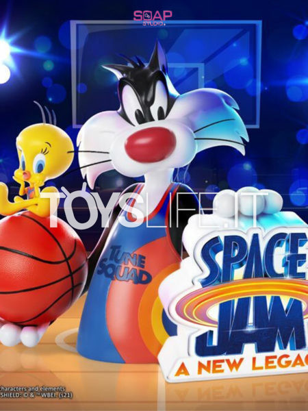 Soap Studio Space Jam 2 A New Legacy Sylvester & Tweety Bust