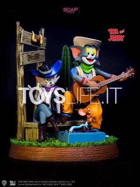 Soap Studios Tom&Jerry Cowboy Statue