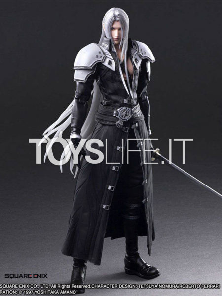 Square Enix Final Fantasy VII Remake Sephiroth Play Arts Kai Figure