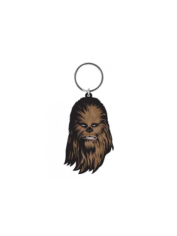 Star Wars Chewbacca Rubber Keychain Portachiavi