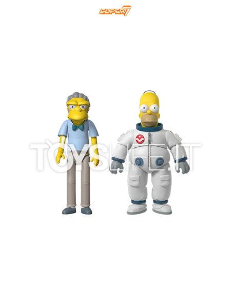 Super 7 The Simpsons Space Homer/ Moe Ultimates Figure