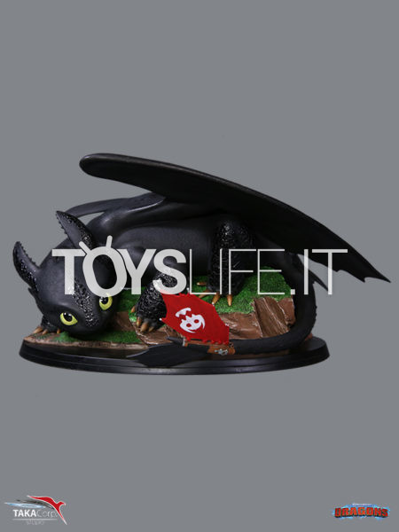 Taka Corp How To Train You Dragon Toothless Pvc Statue