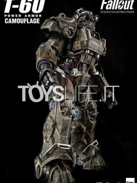 Threezero Fallout T-60 Camouflage Power Armor 1:6 Figure