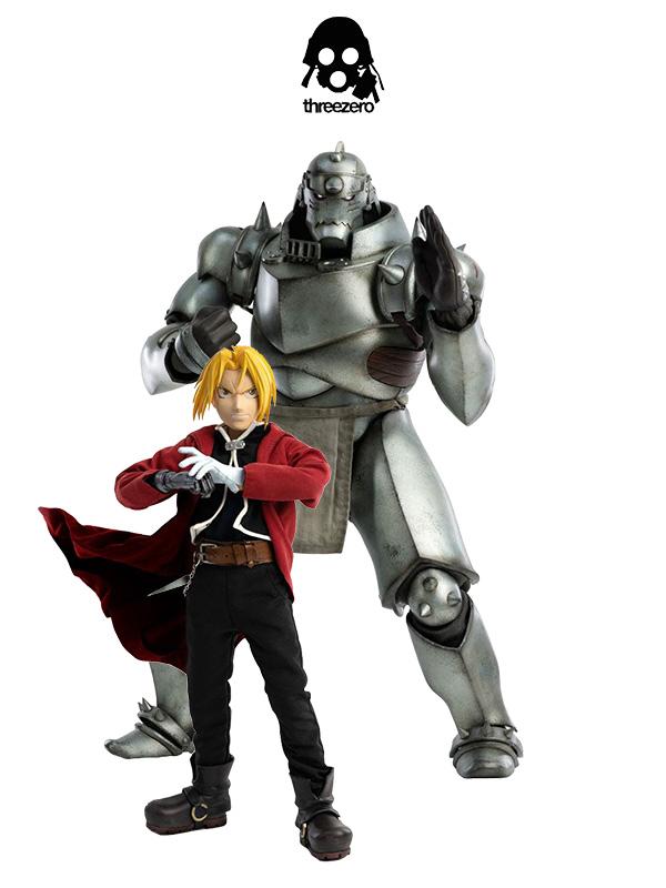 Full Metal Alchemist Brotherhood Edward Elric & Alphonse Elric 2 Pack 1:6 Figures