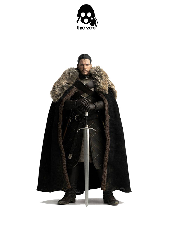 Threezero Game of Thrones Jon Snow Season 8 1:6 Figure