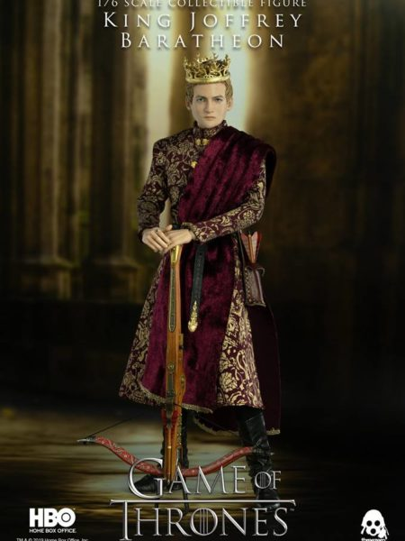 Threezero Game of Thrones King Joffrey Baratheon 1:6 Deluxe Figure