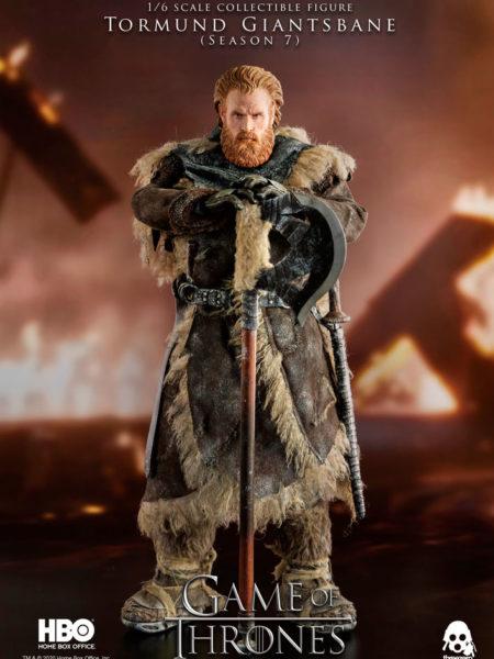 Threezero Game of Thrones Tormund Giantsbane 1:6 Figure