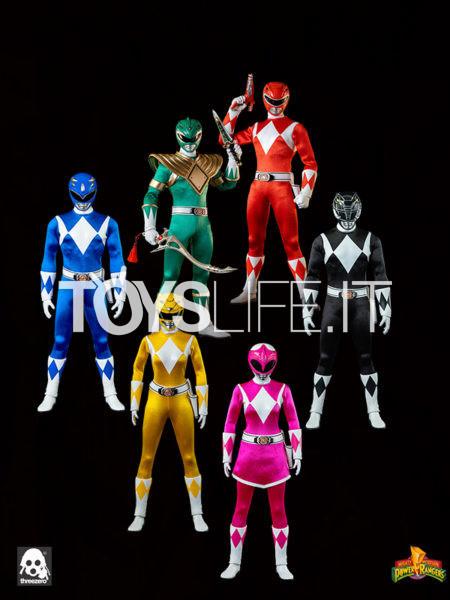 Threezero Morphin Power Rangers 1:6 Figure Set