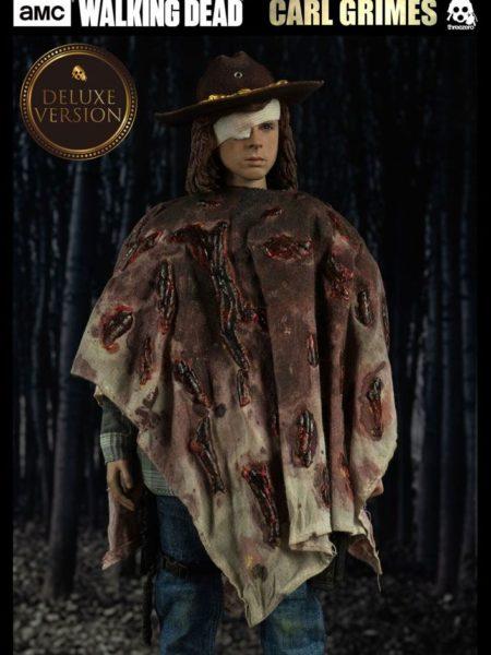 Threezero The Walking Dead Carl Grimes 1:6 Deluxe Figure