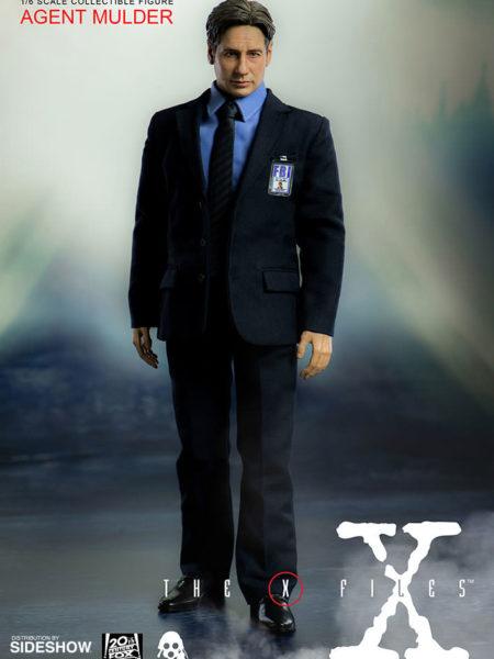 Threezero The X-Files Agent Fox Mulder 1:6 Figure