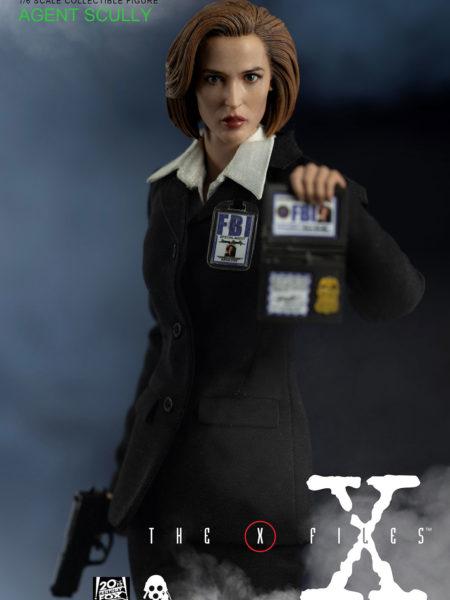 Threezero The X-Files Dana Scully Deluxe 1:6 Figure