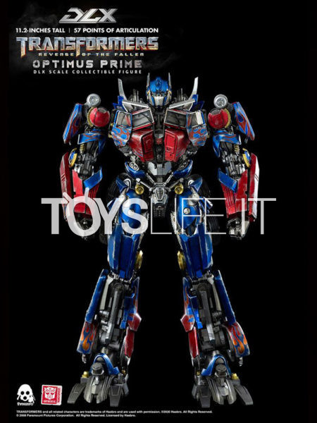 Threezero Transformers Revenge of the Fallen Optimus Prime DLX 1:6 Figure