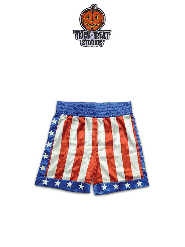 Trick Or Treat Studios Rocky Apollo Boxing Trunks 1:1 Replica