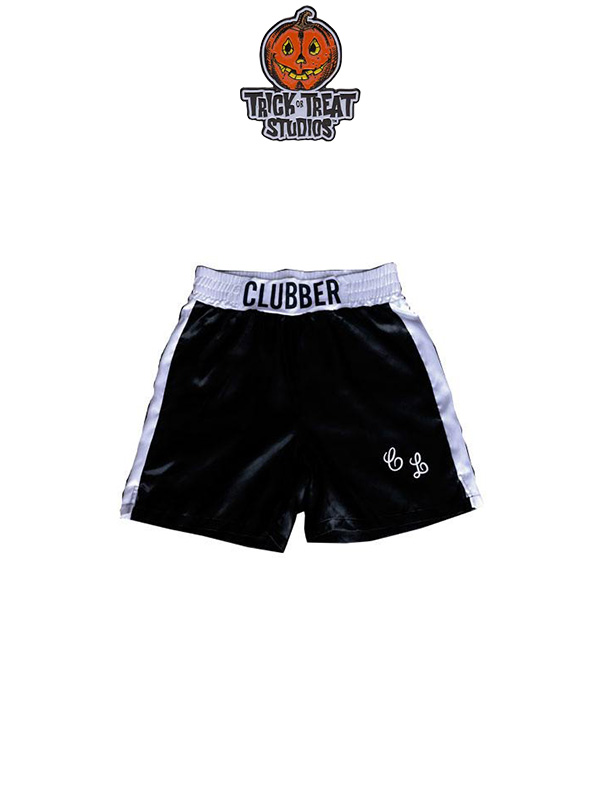 Trick Or Treat Studios Rocky III Clubber Lang Trunks Pantaloncini 1:1 Replica