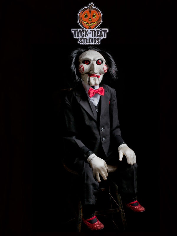 Trick or Treat Studios Saw Billy Puppet Prop 1:1 Replica