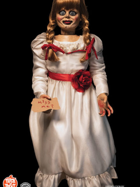 Trick Or Treat The Conjuring Annabelle Doll Lifesize 1:1 Replica