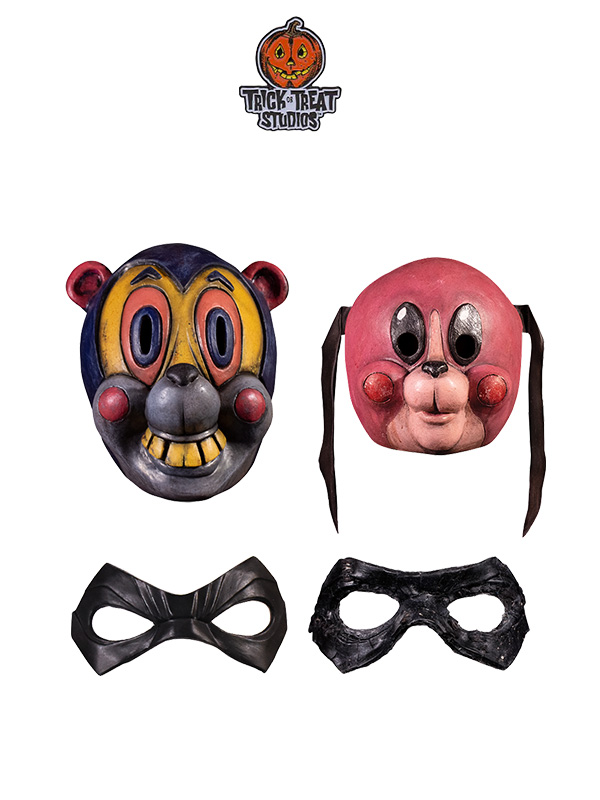 Trick Or Treat The Umbrella Academy Hazel/Cha-Cha/Kid/Diego Mask Replica