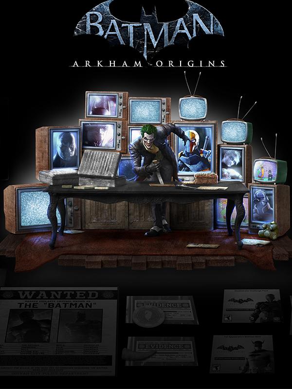 Triforce Batman Arkham Origins Joker Ultimate Collectors Set