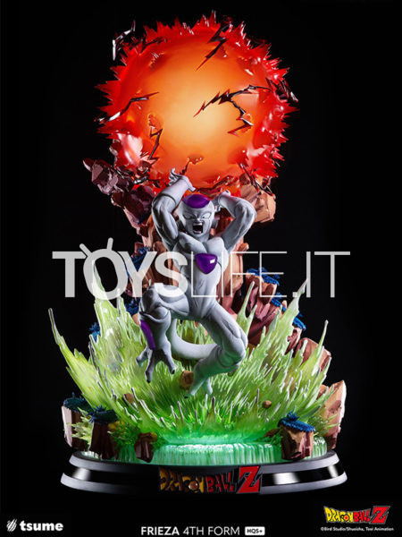 Tsume Art Dragonball Z Frieza 4th Form HQS+ Statue